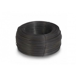 Проволока вяз. черная 1,4 мм. (1кг.)