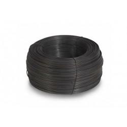 Проволока вяз. черная 4,0 мм. (1кг.)